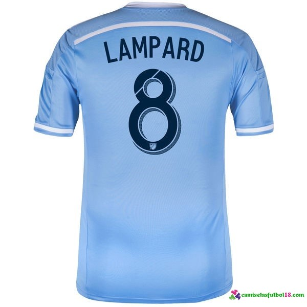 Lampard Camiseta 1ª Kit New York City 2016 2017